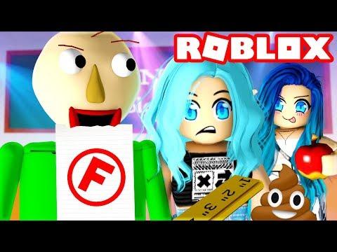 Don't get caught in Roblox Baldi Basics!