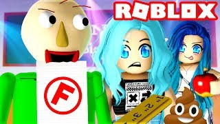 Don't get caught in Roblox Baldi Basics!