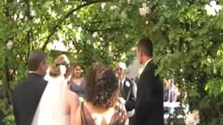 Brian and Ashley Heil Wedding in Ashland Oregon June 20 2008
