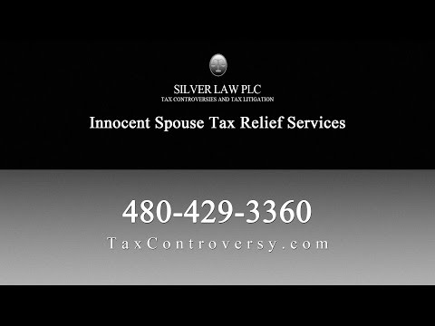 Innocent Spouse Tax Relief With Attorney Jason Silver