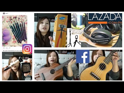 Online Shopping (Part 2): Lazada + Instagram + Facebook Shops   ChubbyChiniCatt