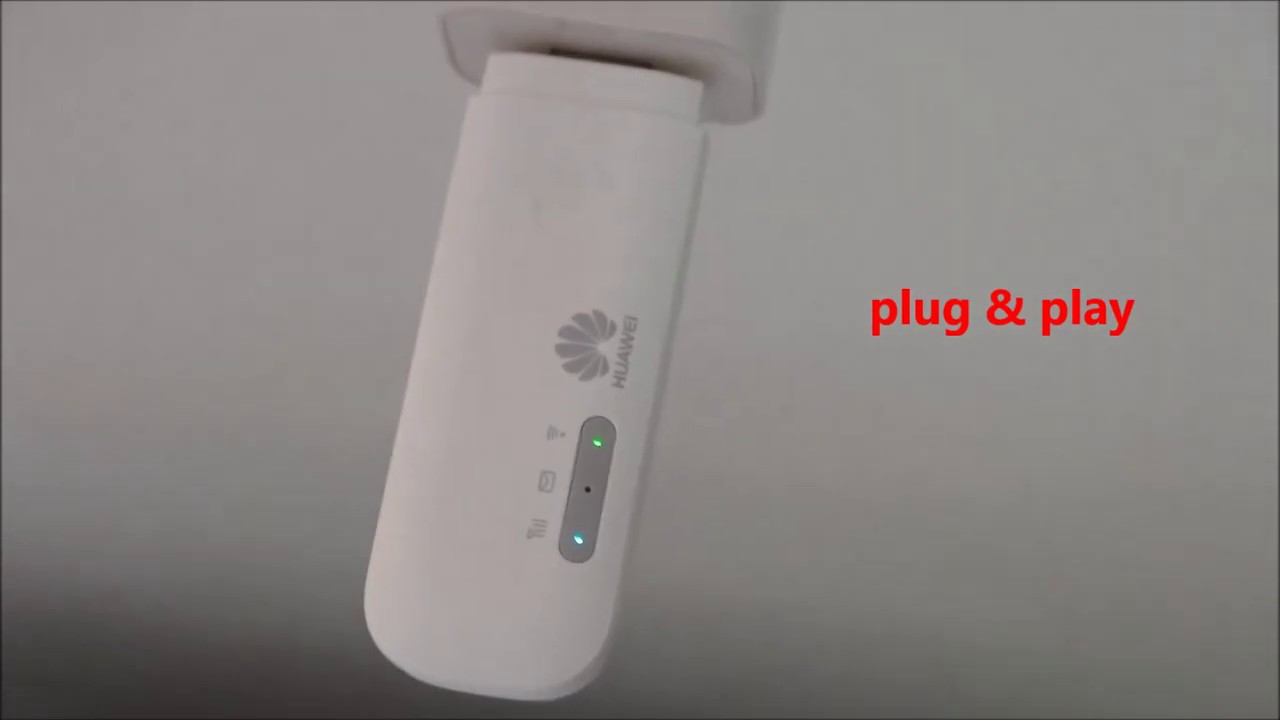 Huawei E8372 4G WINGLE how to set up
