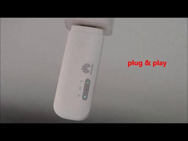 Huawei E8372 4G WINGLE how to set up