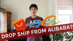 How To Drop Ship From ALIBABA (AliExpress Alternative) 2019