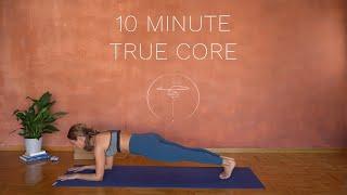 10 min. True Core Workout // No Equipment