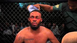 EA SPORTS UFC 2 Jon Jones vs alexander gustafsson