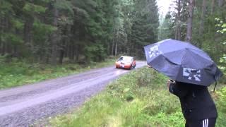 Dennis Norén o Roger Karlsson East sweden rally 2015