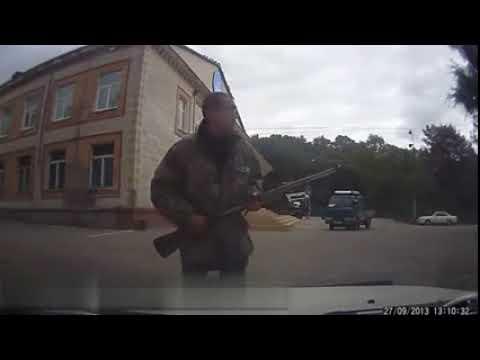 Russian Mafia Shotgun Attack