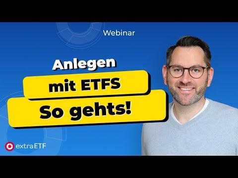 Webinar: Anlegen mit ETFs - worauf Sie achten sollten!