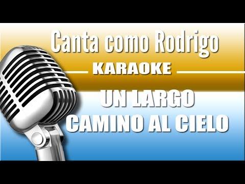 Un Largo Camino al Cielo - Rodrigo- Karaoke Vision