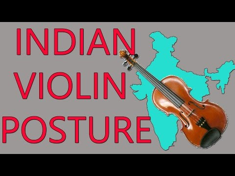 Violin Posture and Bow Hold - Carnatic Music Lessons