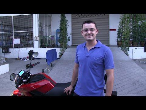 Zero motorcycle in Bangkok