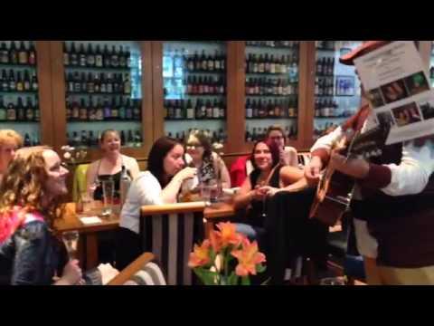 Singing telegrams UK - Clean Hen Party Surprises Sonya's Hen Party