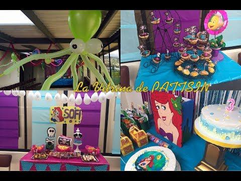 Repeat Decoración Fiesta Sirenita Princesas Y Piratas By La
