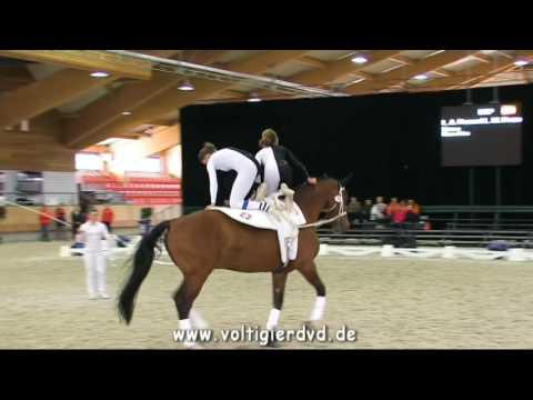 Layla Anne Fraser & Lucy Mae Fraser (ESP) - PdD CVI2-J - CVI Ermelo 2016