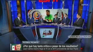 ¿Por que se sigue criticando a Juan Carlos Osorio si los numeros lo respaldan? - Futbol Picante
