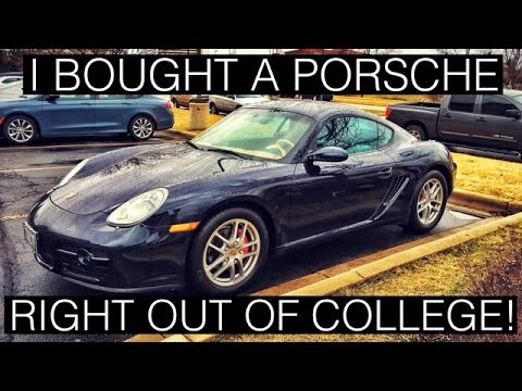 How I Bought a Porsche Right Out of College
