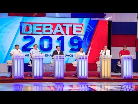#Debate2019: Mangudadatu, Tolentino, Macalintal, Escudero, Chavez, De Guzman | Round 1