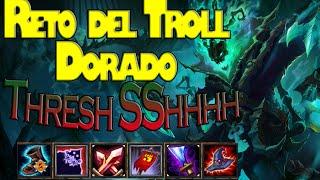 El Reto del Troll Dorado : Treshh Sshhhh