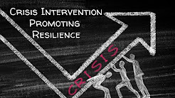 Crisis Intervention: Promoting Resilience | Counselor Toolbox Episode 77