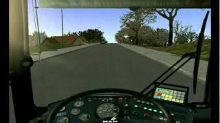 Omnibus Simulator 2012 gameplay New Grundorf MAN part1