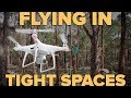 TIPS ON FLYING YOUR DRONE THROUGH TIGHT SPACES!