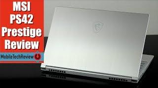 MSI PS42 Prestige Review - MSI