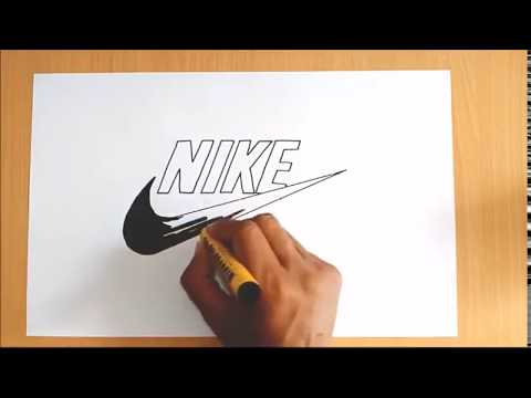 Artists drawing famous logos of brands 2017