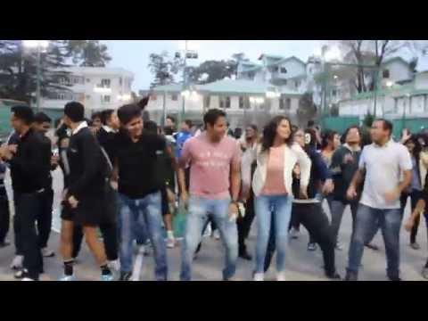 Flash Mob at LBSNAA