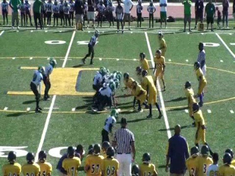 Inderkum Jr. Tigers vs. San Joaquin Rams - Jr.Pee Wee Highlights