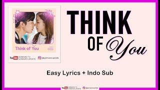Gambar cover HA SUNG WOON - THINK OF YOU (OST. Her Private Life) Easy Lyrics by GOMAWO [Indo Sub]