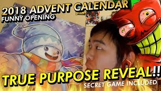 TRUE Purpose of Yu-Gi-Oh! Advent Calendar REVEALED + FUNNIEST FASTEST OPENING