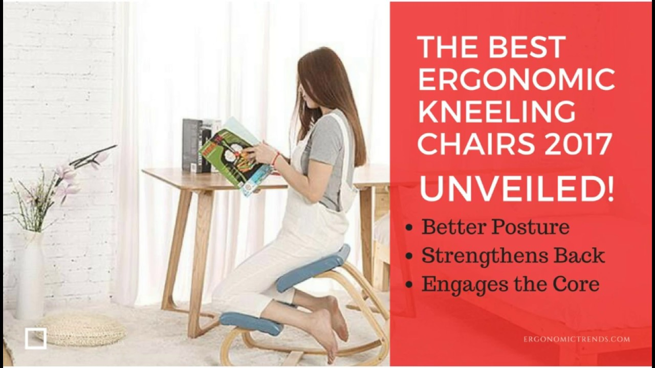 The Best Ergonomic Kneeling Chairs For 2017 Reviewed