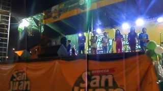 Niños de Nauta cantando en Kukama( Loreto, Perú), Expoamazonica 2013 Iquitos