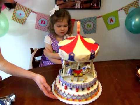 Spinning Carousel Cake