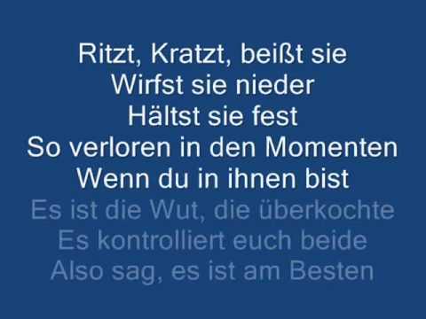 Eminem feat.Rihanna -Love the way you lie ( Deutschen Text ...