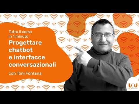 Chatbot e interfacce vocali con Toni Fontana