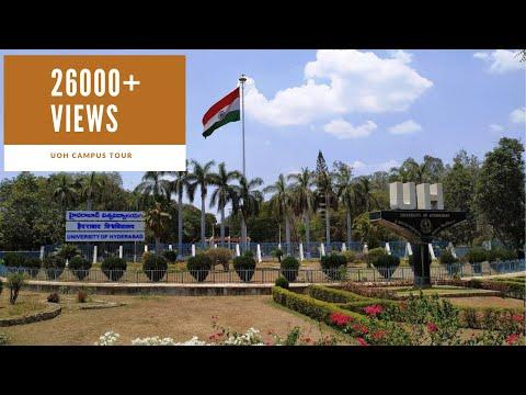 University Of Hyderabad Campus Tour | Hyderabad Central University Campus Tour