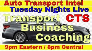 Auto Transport Business Coaching - Car Hauling, Dispatching & Brokers