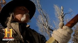 Mountain Men: Kyle Snares a Coyote (S4, E9) | History