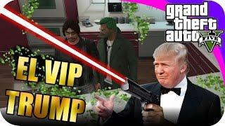 GTA V CON EPSILONGAMEX / EL V.I.P DE DONALD TRUMP GAMEPLAY  EN PS4 #14