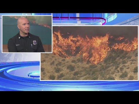 Fire safety advice from Los Angeles Fire Department Captain Erik Scott