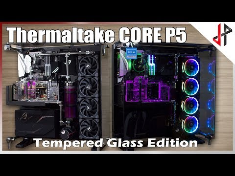 some quick work on the Core P5 Tempered Glass Edition!
