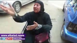سيدة تبكى أمام «الوزراء»: عايزة أقابل الرئيس.. مش لاقية آكل أو أتعالج..فيديو وصور