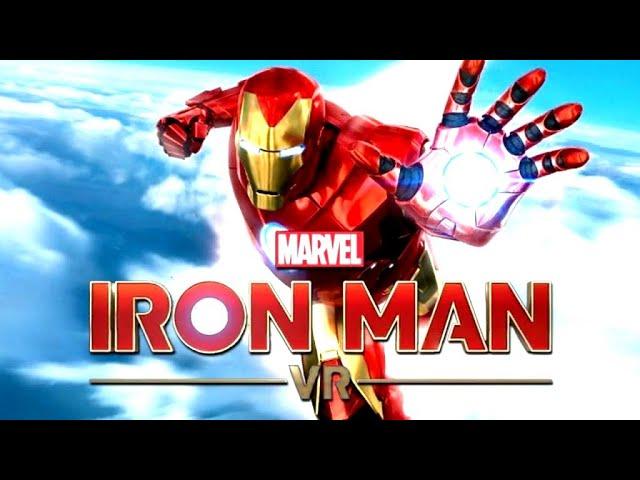 IRON MAN VR All Cutscenes (Game Movie) PSVR 1080p HD