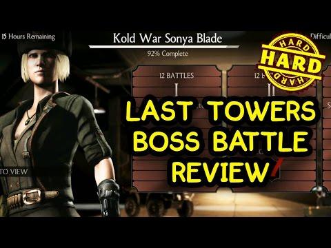 Kold War Sonya Challenge Review (HARD). Mortal Kombat X Mobile