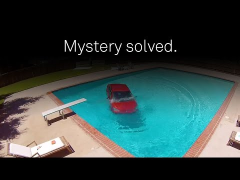 Car. Pool. Mystery solved