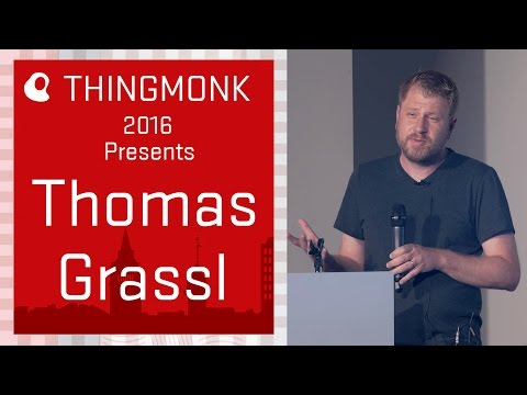 ThingMonk 2016 - Thomas Grassl - Moving containers at scale