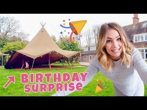 A SPECIAL BIRTHDAY SURPRISE!