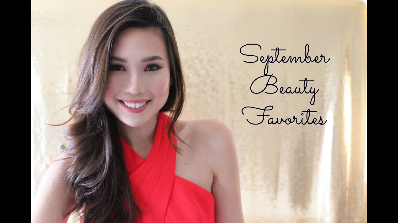 september beauty favorites | the aloha babe - youtube